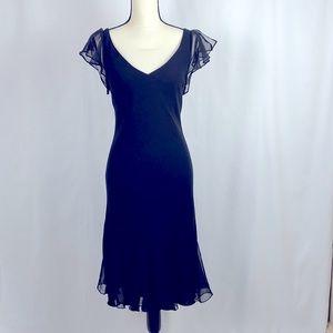 Scarlett Little Black Dress w Trumpet Skirt, Sz 10